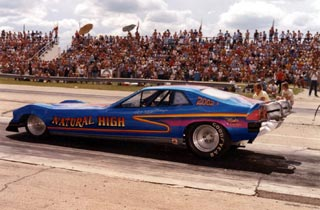 Natural High Rocket-Powered Funny Car